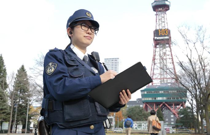 市民の安全な暮らしを守る 警察官 新人巡査さんインタビュー|北海道 ...